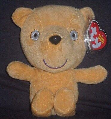 "Ty Beanie Buddy ~ PEPPA/'S TEDDY the 9/"" UK Peppa Pig Park Exclusive Plush ~MWMT/'S"