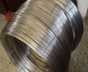 2m = 6.6 FT Titanium Wire for Grade 1 One GR1 ASTM B348 Diameter 1mm E0Z-12 New
