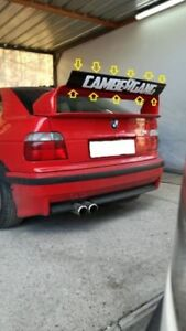 bmw e 36 dtm style flap for ltw gt spoiler universal. Black Bedroom Furniture Sets. Home Design Ideas