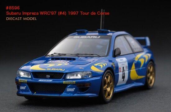 HPI Tour de Corse Rally Subaru Impreza RS WRX STI WRC '97 1 43