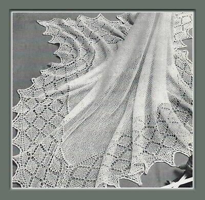 baby pram covers shawls dk knitting pattern 193