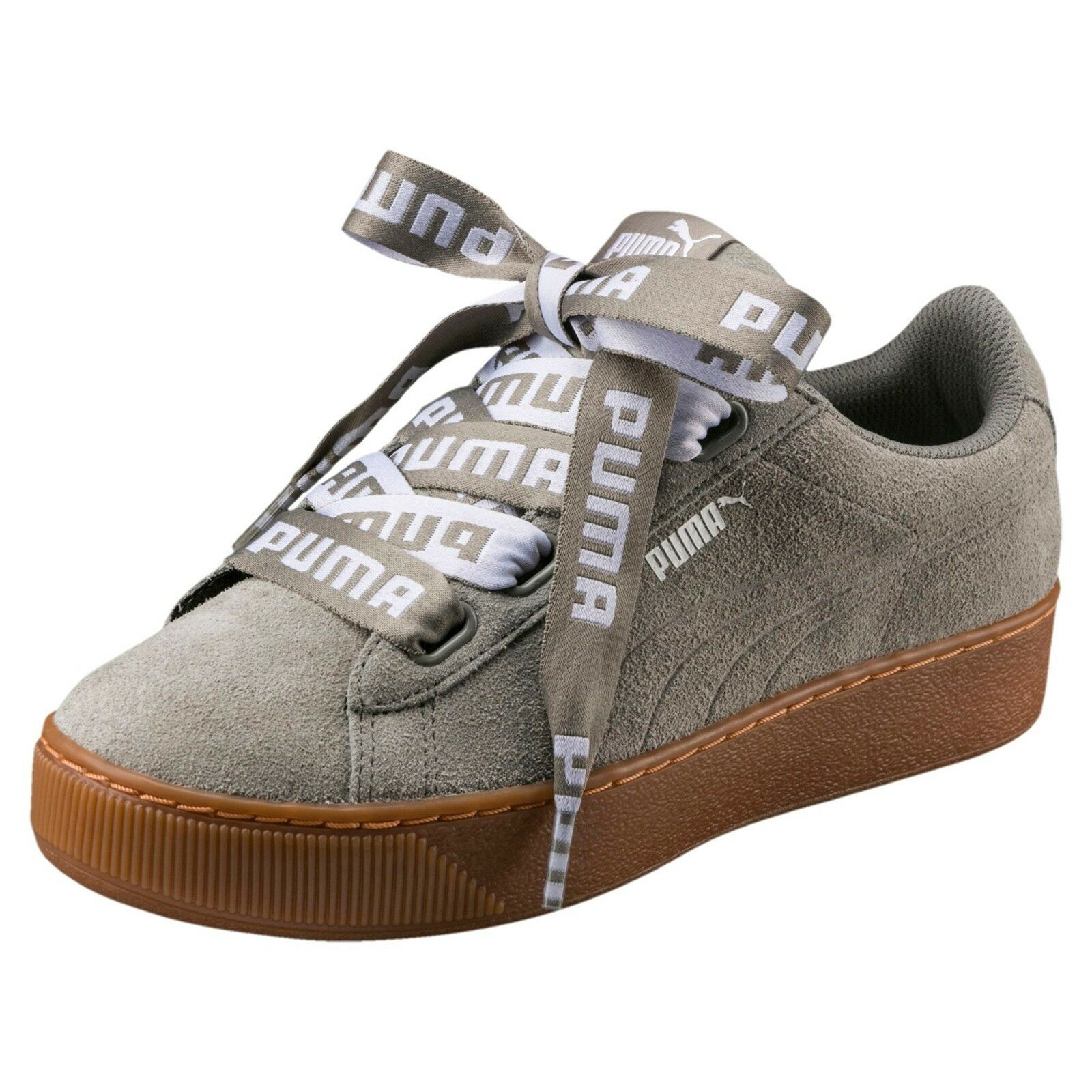 Puma - Vikky Platform Ribbon Bold - Rock Ridge - shoes women - 365314 03
