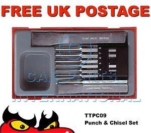 Teng Tools TTPC09 Punch & Chisel Set pc storage box