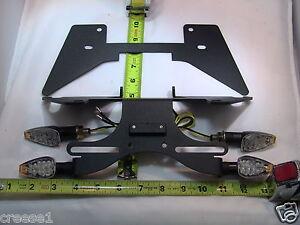 SUZUKI-SV650-650s-Negro-FENDER-ELIMINATOR-BK-4t-S-03-04-05-2006-2007-2008-2009