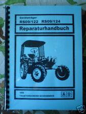 REPARATURHANDBUCH RS09 RS 09 GT124 GT122 GT 124 122