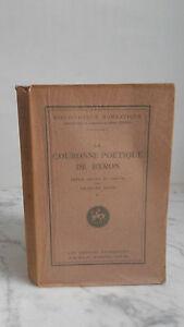 Georges Roth - La Corona Poetico Byron - 1924 - Las Presses Francesa