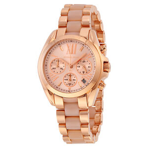 MICHAEL-KORS-Bradshaw-Mini-Chronograph-Rose-Gold-tone-Ladies-Watch-mk6066