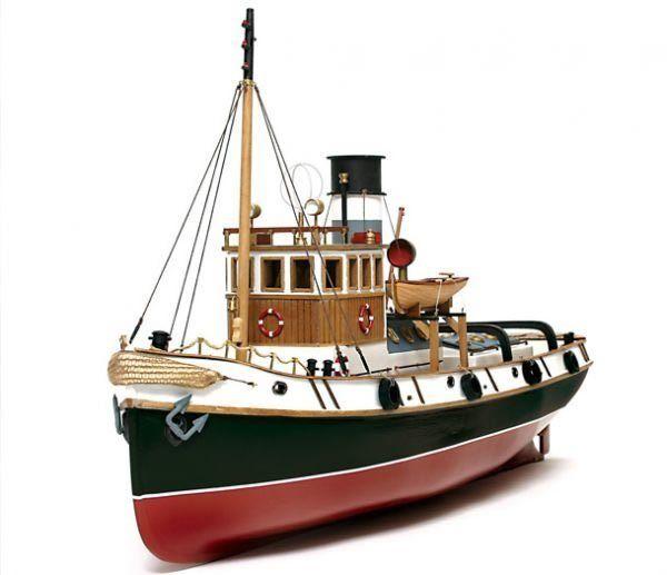 Occre Ulises Ocean Going Steam Tug 1 30 (61001) RC Model Boat Kit