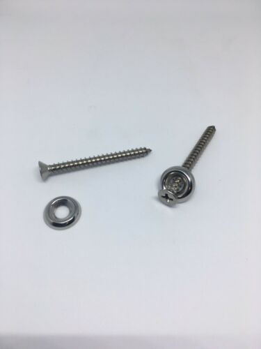 Marshall Amp Cabinet Stainless Steel Screw /& Cup Washer Kit 18 Total Sets Cab