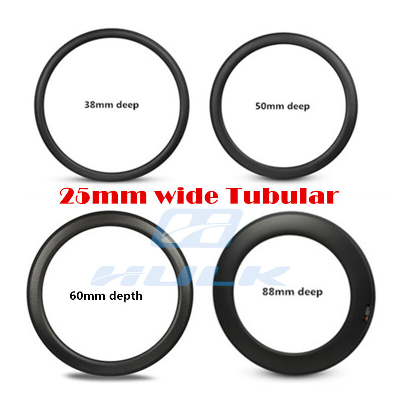 700C 25mm wide carbon road Rim tubular bike Rim  38 50 60 88 available  hot limited edition