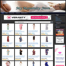 Motherhood Maternity Dress Store Professional Online Business Website For Sale
