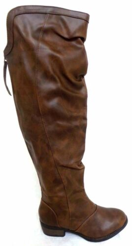 155K Mudd Highland Knee High Boots Browns