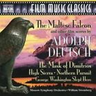 Adolph Deutsch: The Maltese Falcon and other Film scores by Moscow Symphony Orchestra (CD, Jan-2005, Naxos (Distributor))