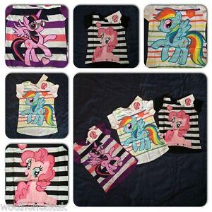 c65e003da399 Girls My Little Pony Tshirt Tee Top T Shirt Dip Hem Twilight Sparkle ...