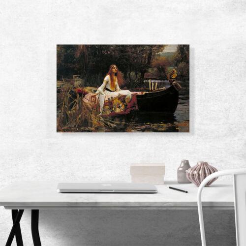 ARTCANVAS The Lady of Shalott 1888 Canvas Art Print John William Waterhouse