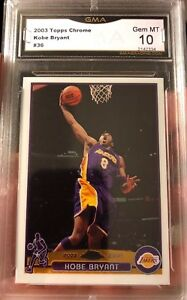 Kobe-Bryant-Topps-Chrome-2003-Gem-Mint-10-Los-Angeles-Lakers-Lebron-s-RC-Year