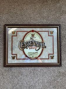 Vintage Michelob Centennial Special Brew Mirror framed Beer sign Anheuser Busch