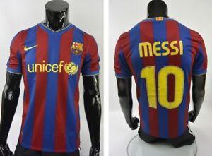 BARCA 2009-10 NIKE Barcelona FC Home Football Shirt MESSI SIZE S ... d8b2f2226e8da