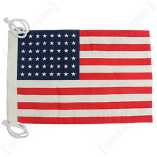 Small Vintage Style US Jeep Flag (48 Stars) 1912/1959 WW2 REPRO AMERICAN
