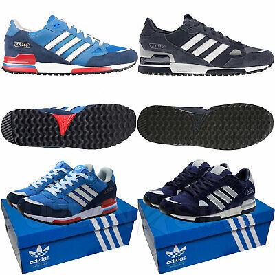 Adidas Originals ZX 750 Wildleder Herren Sneaker Sport Freizeitschuhe Retro Schuhe UK Grössen | eBay