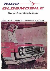 98 1961 OEM Maintenance Owner's Manual Bound for Oldsmobile Delta ...