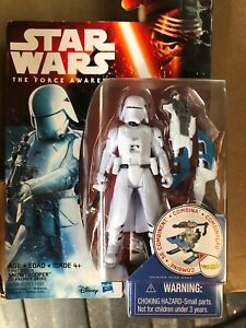 Star Wars The Force Awakens First Order Snowtrooper 3.75 Inch Action Figure