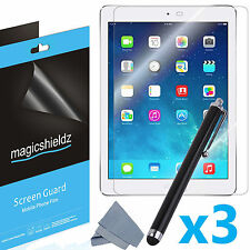 3X HD Clear LCD Screen Protector Shield Guard Film For Apple iPad Air