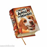 El Mejor Amigo Del Hombre Hardcover Miniature Book Dog Breeds Razas Perro