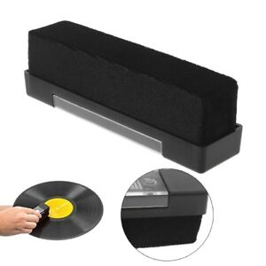 Carbon-Fiber-Vinyl-LP-Record-Cleaner-Cleaning-Brush-Anti-Static-Dust-Remover