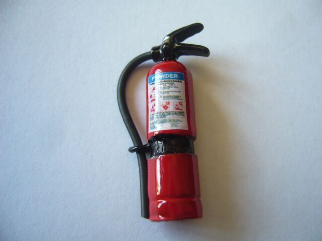 NO STOCK 1/10 Scale Metal Fire Extinguisher  Rc Crawler cc01 scx10 rc4wd D90