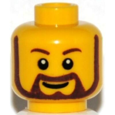 LEGO® Kopf für Figur DFB Mann 26625 Head Tête Hoofd Cabeza Testa 6151947 NEU