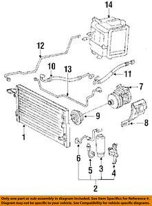 s l300 toyota oem 1991 pickup a c ac hose line pipe 8872035170 ebay