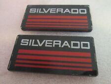 88 98 2pcs Chevy Cab Emblem Badge Side Roof Pillar Decal Plate For Silverado