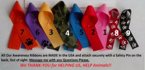 Awareness Ribbons,Breast Cancer,Support Police,More!,10 of one kind,FreeUSAS&H