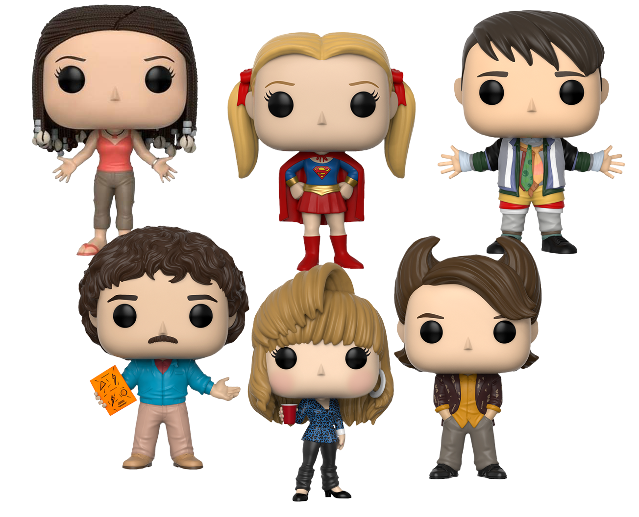 FUNKO POP   Friends - The One with the Bundle (Set of 6)