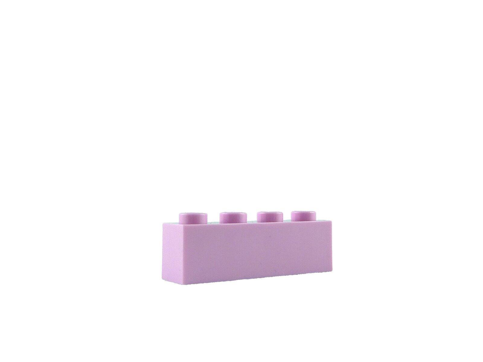 Lego 50x Stein 1x4 hell rosa bright pink 3010 Steine in hellrosa Bausteine