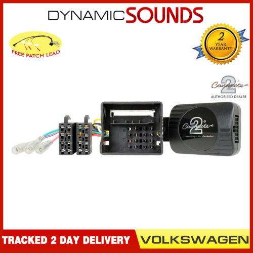 2006-2016 CTSVW016.2 Steering Wheel Control Adaptor Free Patch For VW EOS