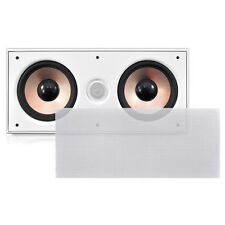 Pyle-Home PDIWCS62 Dual 6.5'' 2-Way In-Wall Center Channel Speaker System