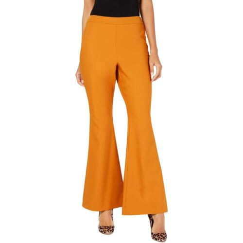 INC Womens Wide Leg Mid Rise Pull On Pants BHFO 8307
