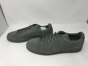 Mens Puma (362595-01) Suede Classic Tonal Agave Green Shoes (Z14)  7caed1ff5