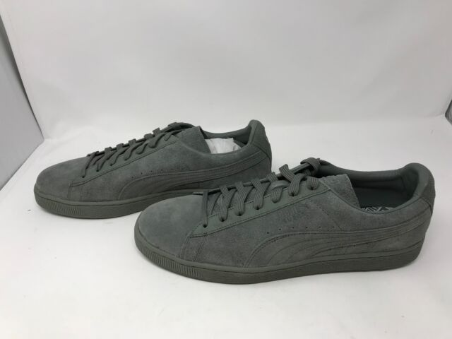 finest selection d642c a4283 Mens Puma (362595-01) Suede Classic Tonal Agave Green Shoes (Z14)