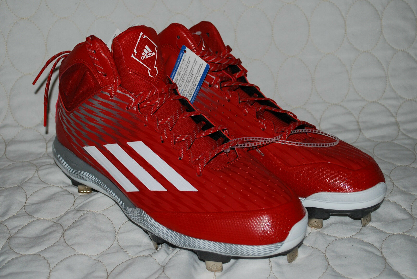 Adidas Baseball Football Soccer Cleats Uomo Size 14 New *Just Give Your Offer*