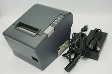 Epson Tm T88iv Usb Thermal Receipt Printer Ps 180 Pwr Sup Usb Cable