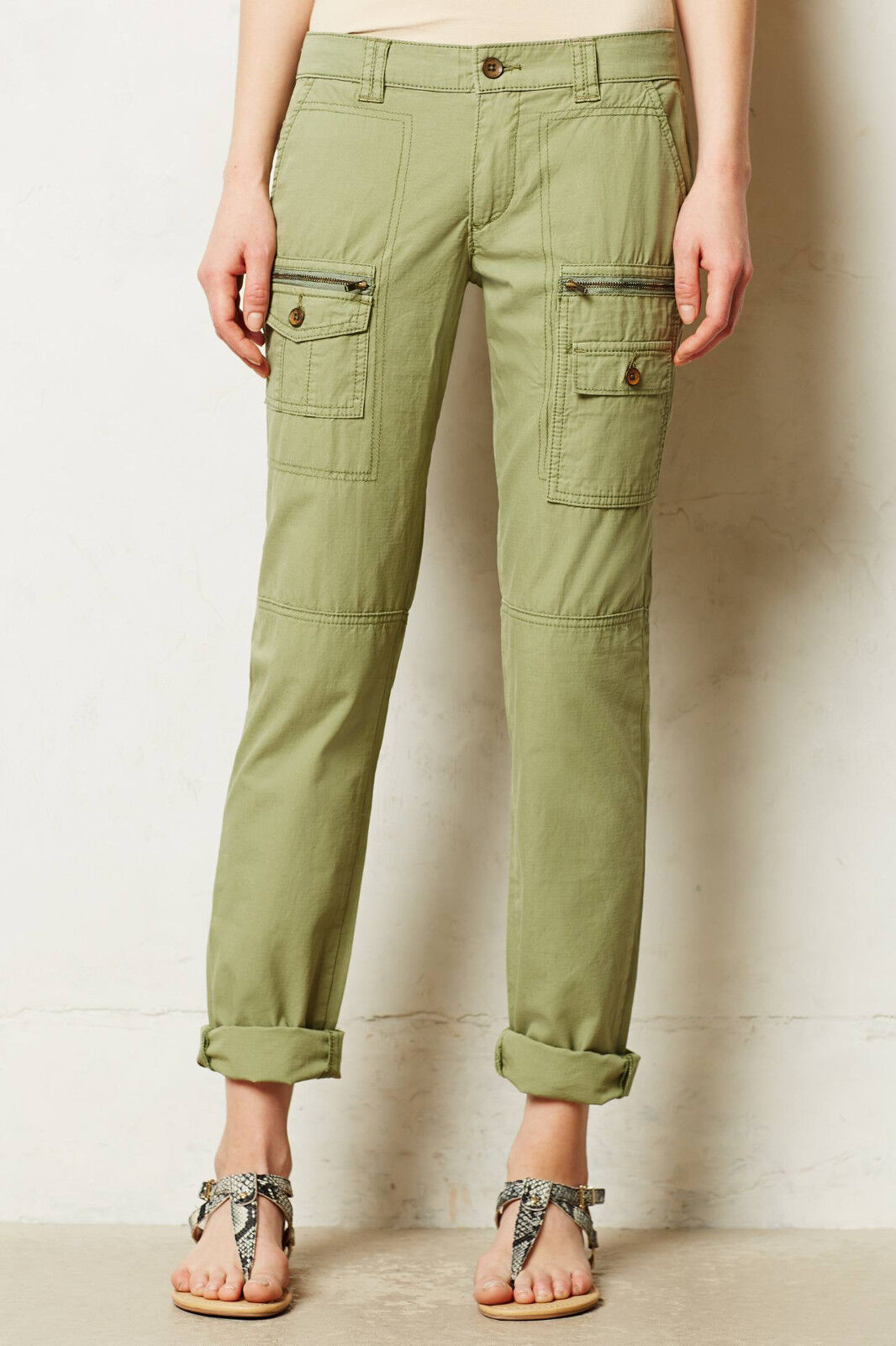 Hei Hei Cotton Westport Cargos Pants Various Farbes and Sz NW ANTHROPOLOGIE Tag