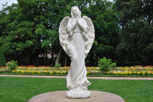 Engelfigur Skupltur Deko GD-133 MystiCalls Engel weiss stehend betend