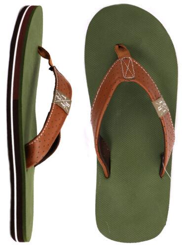 UK7-13 Two Bare Feet ALPHA Adults Mens Sandals Flip Flops Summer Beach Thong