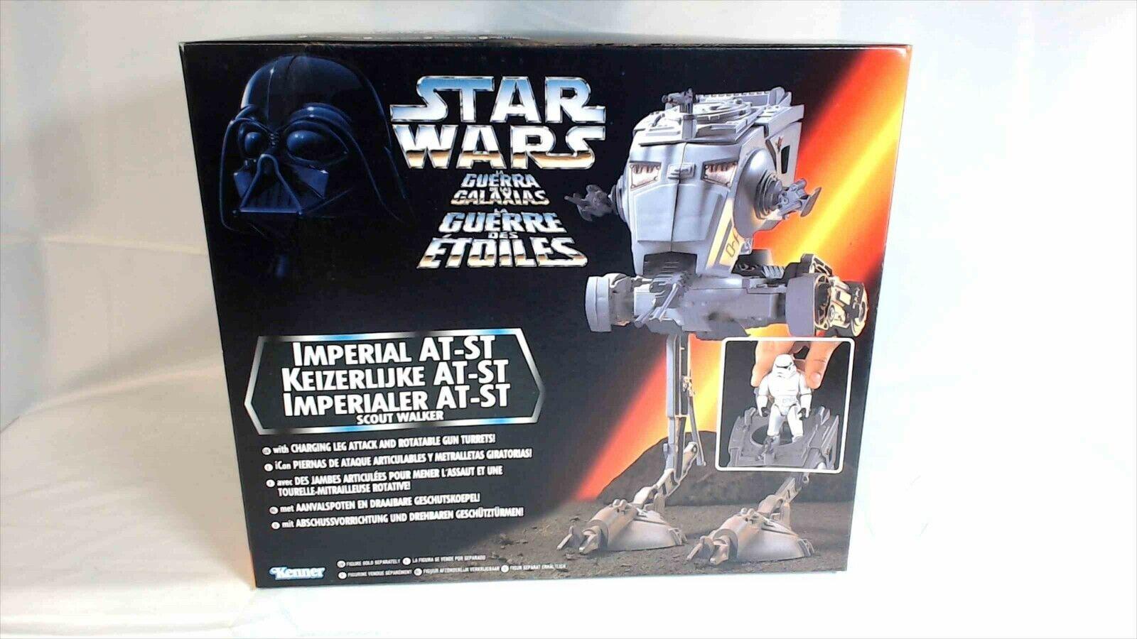 1996 Kenner Star Wars Tri-Logo European Imperial AT-ST Guerra Guerre SACP02
