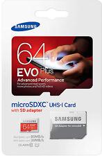 Samsung Evo+ Plus 64 GB Class 10 microSDXC Card 64GB Micro SD..