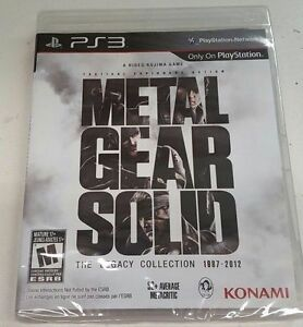 Metal-Gear-Solid-The-Legacy-Collection-PlayStation-3-PS3-Brand-New