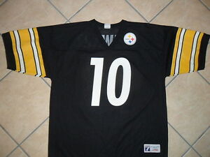 f219e60ca Image is loading KORDELL-STEWART-PITTSBURGH-STEELERS-10-JERSEY-vtg-Logo-